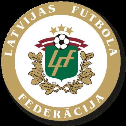 サッカーラトビア女子代表エンブレム