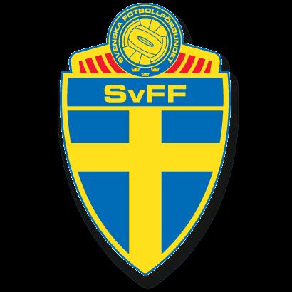 サッカースウェーデン女子代表エンブレム