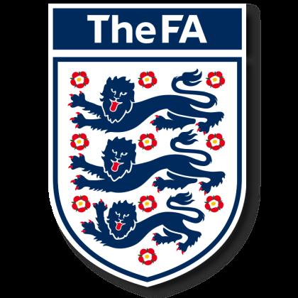 サッカーイングランド女子代表エンブレム